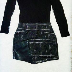 ZARA Tweed Mini Skirt (NWOT)